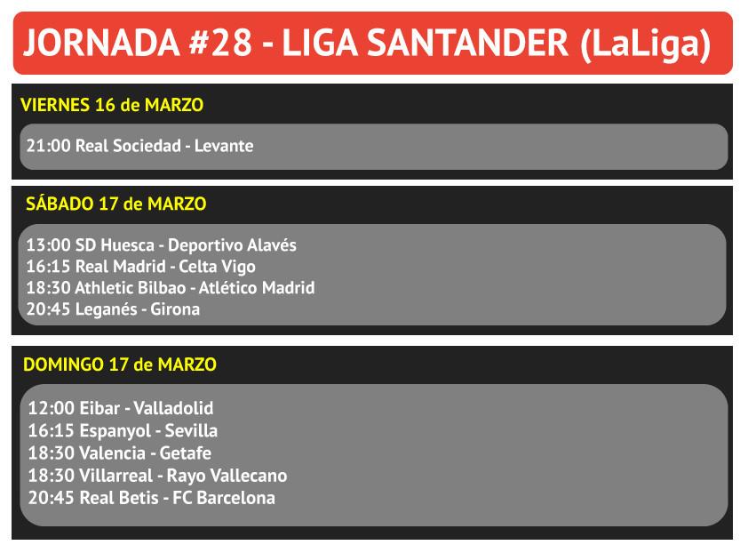 Calendario Celta Vigo.Apuestas Futbol Apuestas La Liga Jornada 28