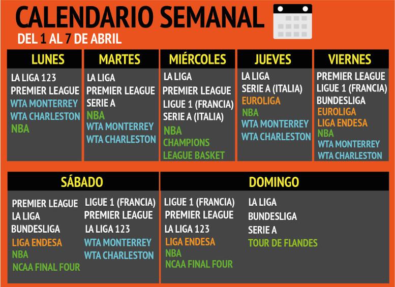 As Calendario Liga 123.Calendario Apuestas Deportivas Apuestas De La Semana