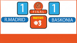 Apuestas Partido 3 Liga Endesa: Baskonia vs Real Madrid