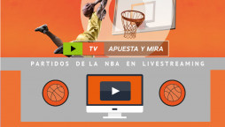 Partidos streaming de la NBA