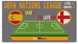 UEFA Nations League España Inglaterra
