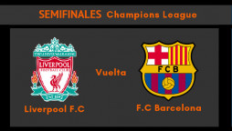 Liverpool Barcelona vuelta semifinales Champions League