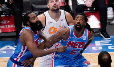 Harden en los Brooklyn Nets NBA