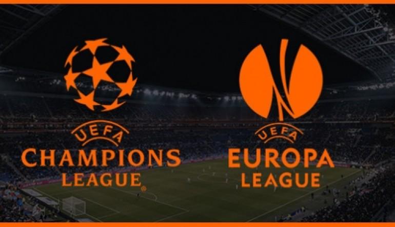 Los partidos de cuartos de final de Champions y Europa League